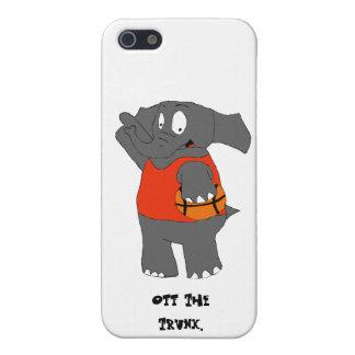 Cartoon Elephant Basketball Player iPhone SE/5/5s Case