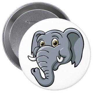 Cartoon Elephant Pin