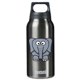 Cartoon Elephant Insulated Water Bottle