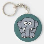 Cartoon Elephant Key Chains