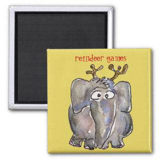 Cartoon Elephant Magnet