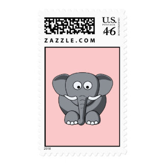 Cartoon Elephant Postage
