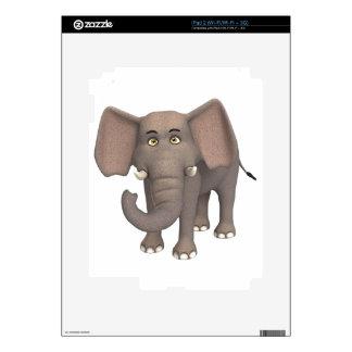 Cartoon Elephant iPad 2 Decals