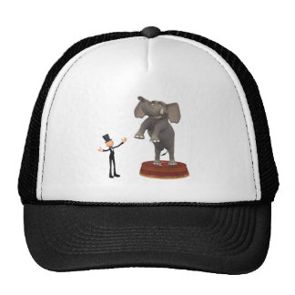 Cartoon Elephant Trucker Hat