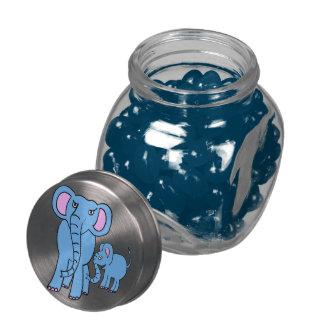 cartoon elephants candy jar jelly belly candy jars