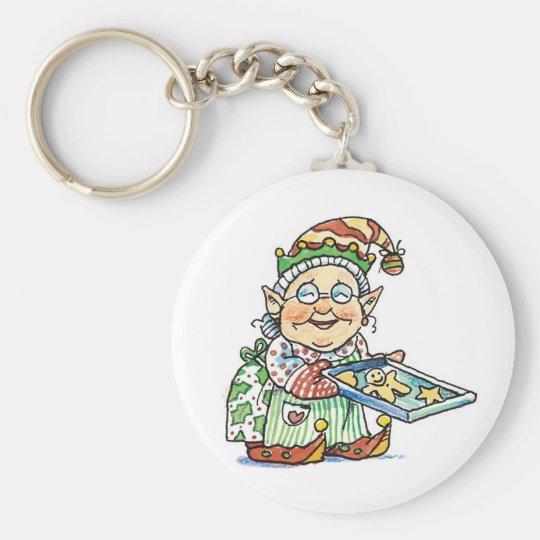 Cartoon Elf Keychain