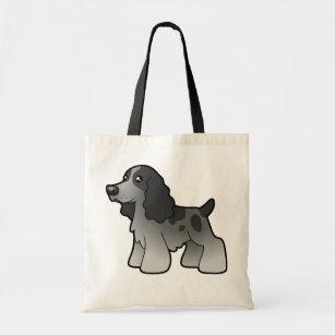 English Cocker Spaniel Dog Printed Eco-Friendly Foldable Shopping Bag BDENGCKR-4