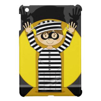 Cartoon Escaped Prisoner in Spotlight Case For The iPad Mini