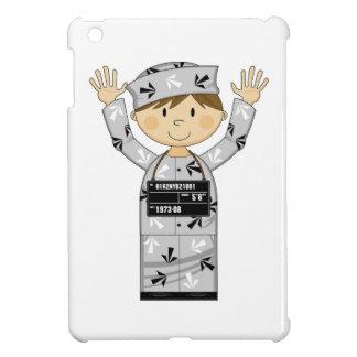 Cartoon Escaped Prisoner iPad Mini Covers
