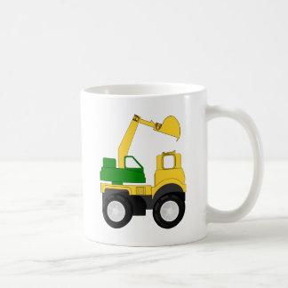 Cartoon Excavator Coffee Mug