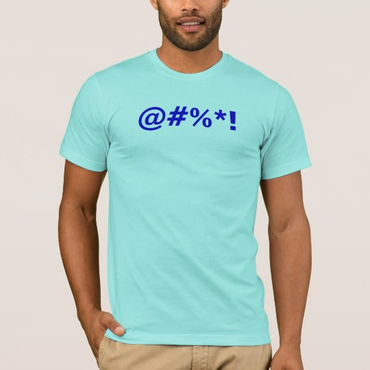 Cartoon Expletive T-Shirt