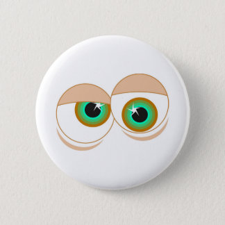 Cartoon eyes button
