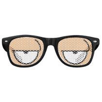 Cartoon Eyes Sleepy Skin Medium Sunglasses