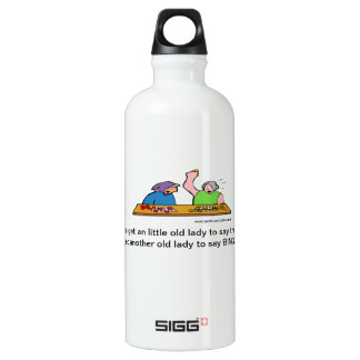 Cartoon F Word Bingo SIGG Traveler 0.6L Water Bottle