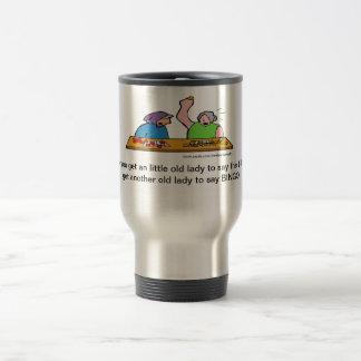 Cartoon F Word Bingo Travel Mug