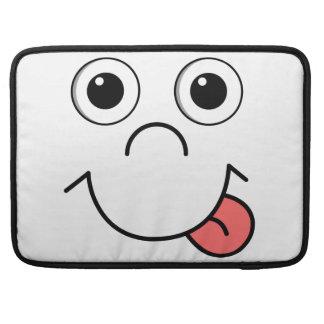 Cartoon face MacBook pro sleeves