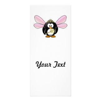 Cartoon Fairy Penguin Rack Card