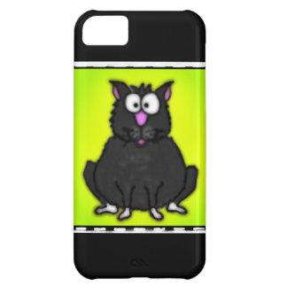 Cartoon Fat Cat Cover For iPhone 5C