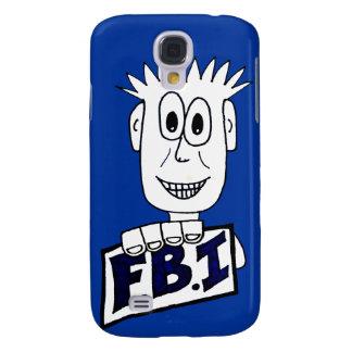 Cartoon FBI Agent Galaxy S4 Case