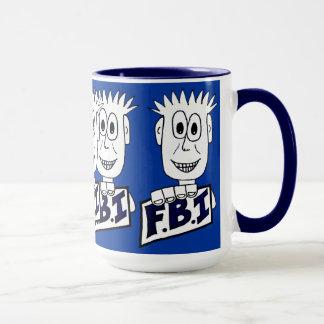 Cartoon FBI Agent Mug