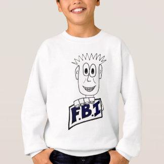 Cartoon FBI Agent Sweatshirt