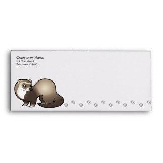 Cartoon Ferret Envelope