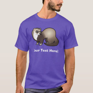 Cartoon Ferret T-Shirt