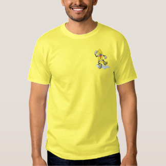 Cartoon Fire Hydrant Embroidered T-Shirt