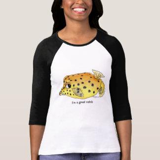 Cartoon Fish 06 Great Catch T Shirts