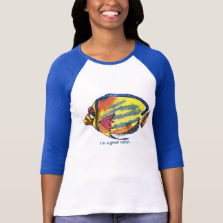 Cartoon Fish 21 Great Catch T Shirts