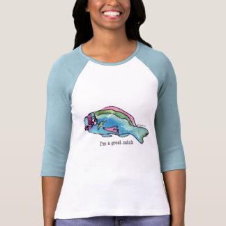 Cartoon Fish 22 Great Catch T Shirts