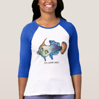 Cartoon Fish 23 Great Catch T Shirts