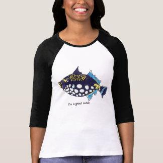 Cartoon Fish 32 Great Catch T Shirts