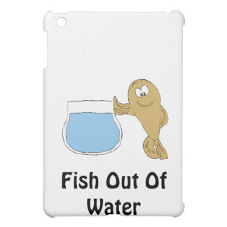 Cartoon Fish By Fish Bowl Cover For The iPad Mini