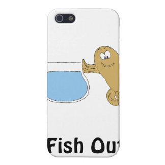 Cartoon Fish By Fish Bowl iPhone 5 Cases