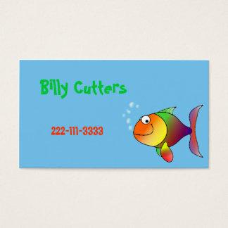 Cartoon Fish Children's Calling Card