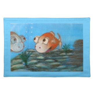 Cartoon Fish Placemats