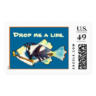 Cartoon Fish Postage to Personalize