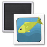 Cartoon Fish Refrigerator Magnets