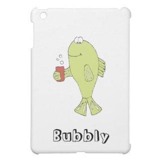 Cartoon Fish With Bubbly Soda iPad Mini Case