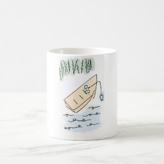 Cartoon Fishing Mug - Fun Cartoon Fishing