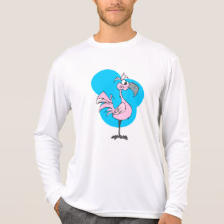 Cartoon Flamingo T Shirt