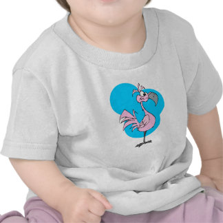 Cartoon Flamingo Tshirts