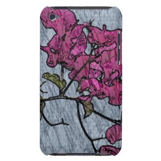 Cartoon Flower iPod Case-Mate Case