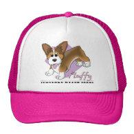 Cartoon Fluffy Pembroke Welsh Corgi Hats