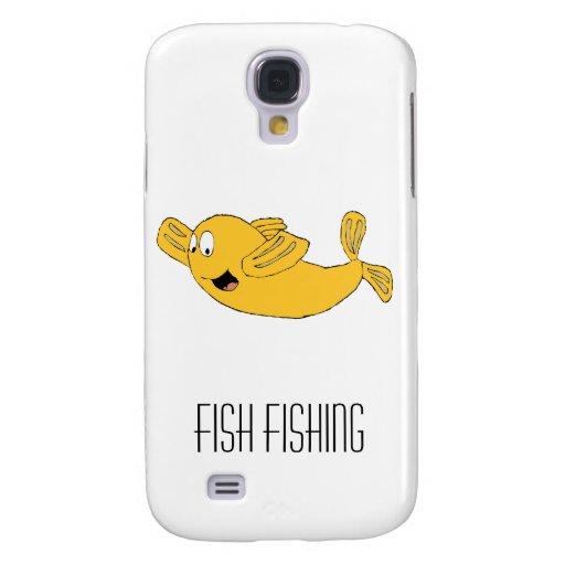 Cartoon Flying Fish Galaxy S4 Covers