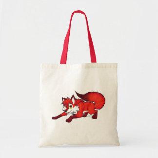 Cartoon fox tote