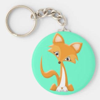 Cartoon Foxy Fox Key Chain