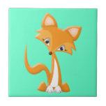 Cartoon Foxy Fox Tile