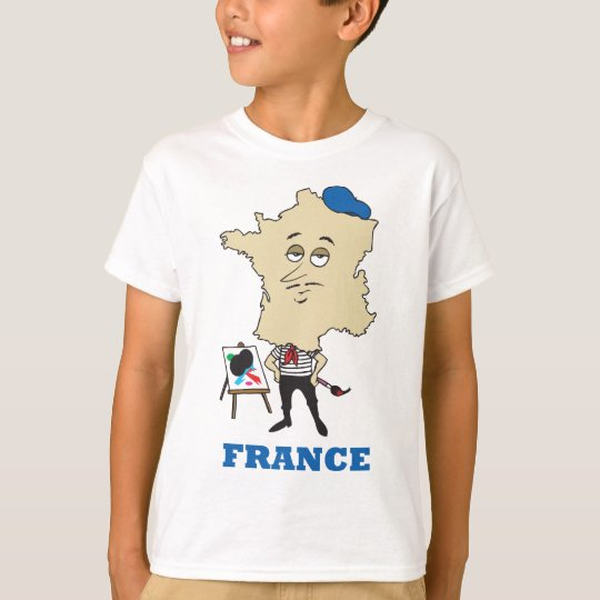Cartoon France T-Shirt